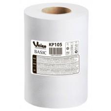 Полотенца бумажные в рулонах с центральной вытяжкой Veiro Professional Basic KP105