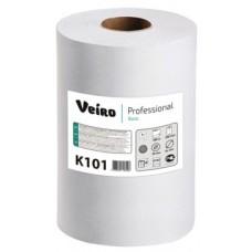 Полотенца бумажные в рулонах Veiro Professional Basic K101