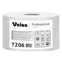 Туалетная бумага в средних рулонах Veiro Professional Comfort T206