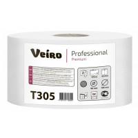 Туалетная бумага в средних рулонах Veiro Professional Premium T305