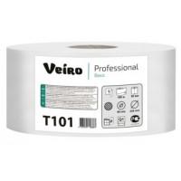Туалетная бумага в больших рулонах Veiro Professional Basic T101
