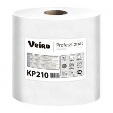 Полотенца бумажные в рулонах с центральной вытяжкой Veiro Professional Comfort KP210