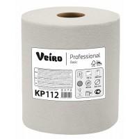 Полотенца бумажные в рулонах с центральной вытяжкой Veiro Professional Basic KP112