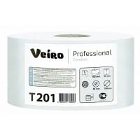 Туалетная бумага в средних рулонах Veiro Professional Comfort T201
