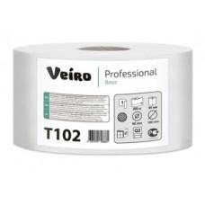 Туалетная бумага в средних рулонах Veiro Professional Basic T102