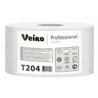 Туалетная бумага в средних рулонах Veiro Professional Comfort T204